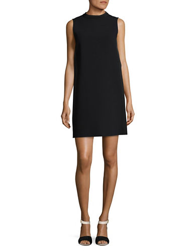 Marella Eliana Shift Dress-BLACK-2