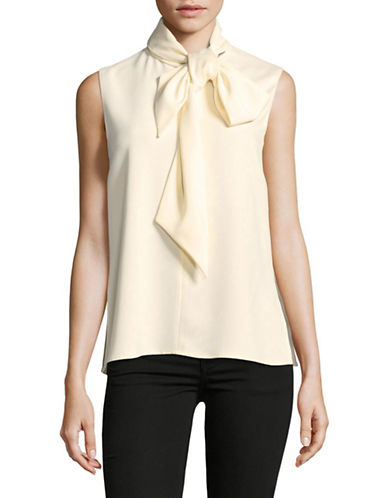 Marella Bow-Tie Blouse-WHITE-10
