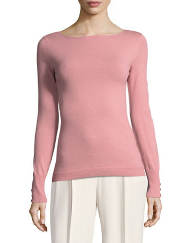 Marella Strenna Wool-Blend Sweater-PINK-Large