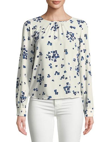 Marella Nastie Floral Blouse-WHITE-12
