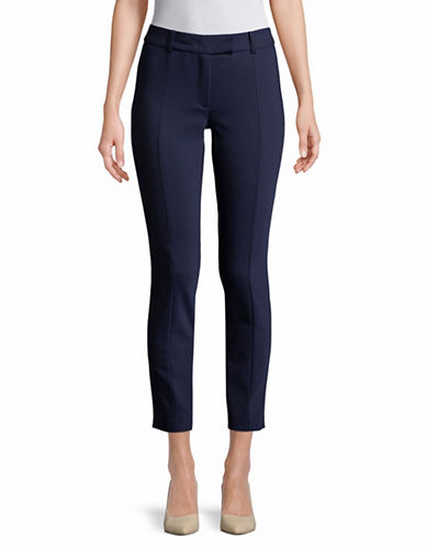 Marella Pineta Skinny Stretch Pants-NAVY-4