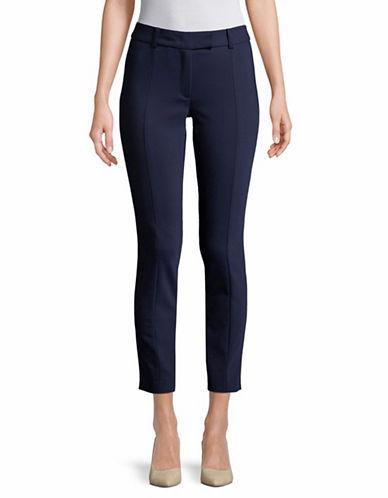 Marella Pineta Skinny Stretch Pants-NAVY-4
