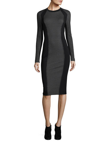 Marella Filato Dress-BLACK-4