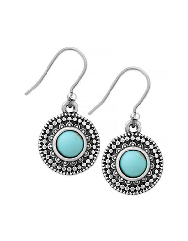Lucky Brand Drop Earrings-TURQUOISE-One Size