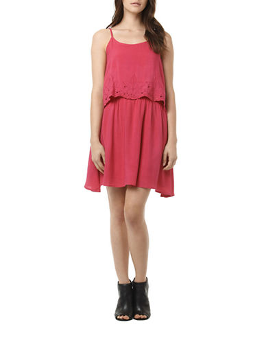 Buffalo David Bitton Kelsy Dress-PINK-X-Large