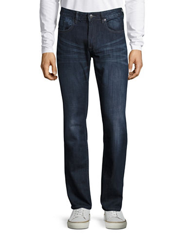Buffalo David Bitton Driven Straight Leg Jeans-INDIGO-32X32