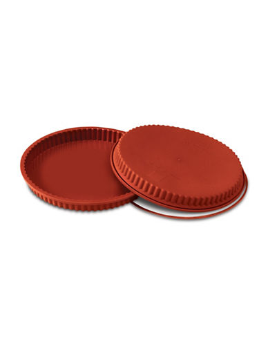 Silikomart Silicone Crostata Mould-TERRACOTTA-One Size