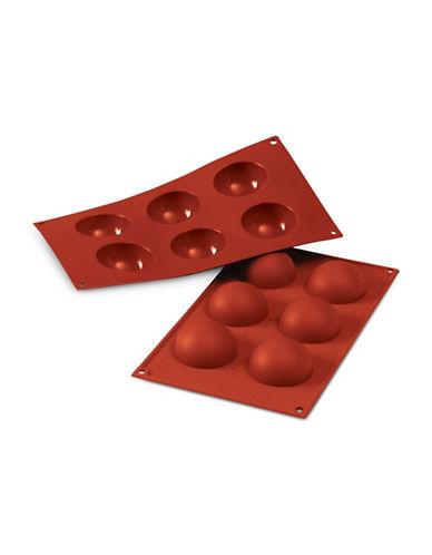 Silikomart Silicone Semisfera Mould-TERRACOTTA-One Size
