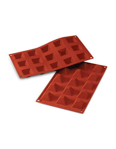 Silikomart Silicone Piramidi Mould-TERRACOTTA-One Size