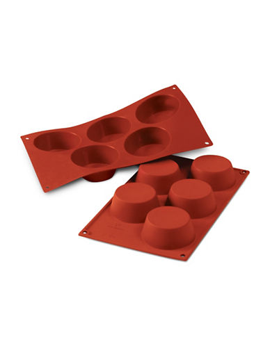 Silikomart Silicone Muffin Mould-TERRACOTTA-One Size