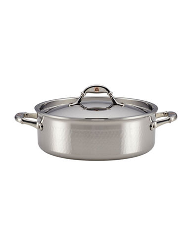Ruffoni Symphonia Prima Stainless Steel Braiser-STAINLESS STEEL-4QT