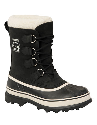 Sorel Caribou-BLACK-5