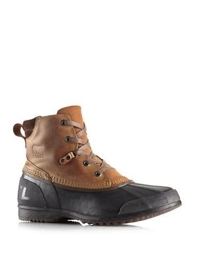 Sorel ANKENY Boots-BROWN ELK-12