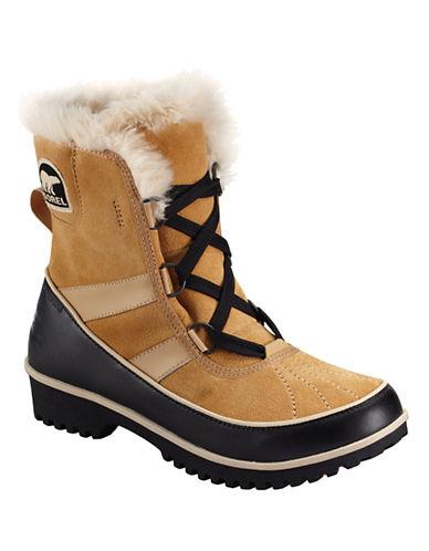Sorel Tivoli II Boots with Faux Fur-BEIGE-6.5