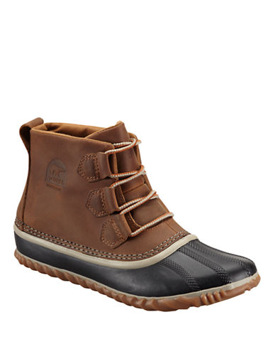 Sorel Out N About Leather-BROWN-6.5