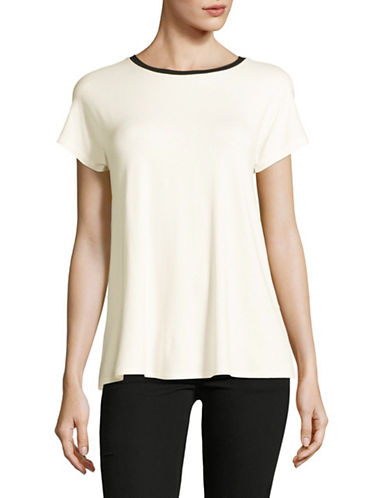 Weekend Max Mara Multia Jersey Top-WHITE-Medium