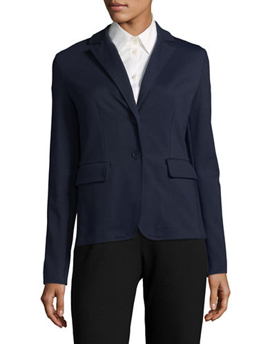 Weekend Max Mara Vals Buttoned Jacket-ULTRAMARINE-XX-Large