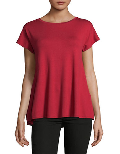 Weekend Max Mara Multia Jersey Top-RED-X-Large