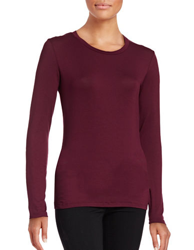 Weekend Max Mara Multid Long Sleeve Top-RED-Medium 88762988_RED_Medium