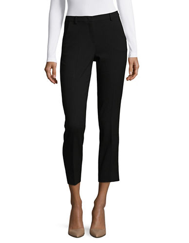 Weekend Max Mara Cartone Stretch Pants-BLACK-EUR 46/US 12