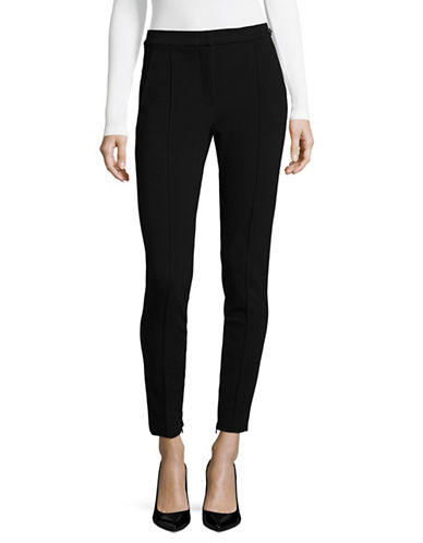 Max Mara Studio Stretch Twill Genarca Pants-BLACK-Medium