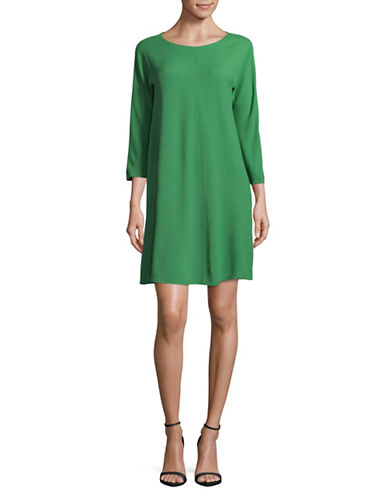 Weekend Max Mara Uberta Sheath Dress-GREEN-EUR 46/US 12