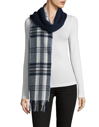 Weekend Max Mara Morina Wool Blend Scarf-BLUE-One Size