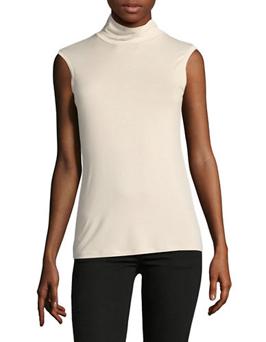 Weekend Max Mara Multic Sleeveless Jersey Top-SAND-Small