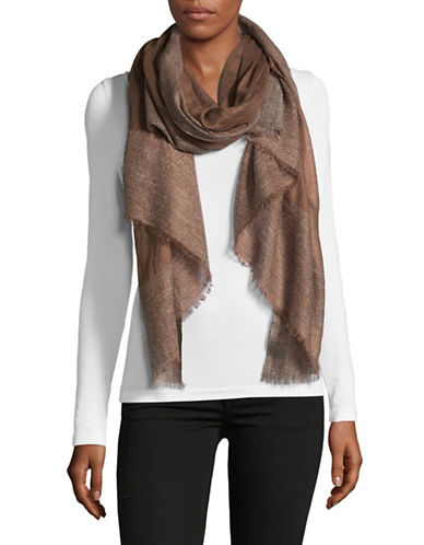 Weekend Max Mara Calais Scarf-BROWN-One Size