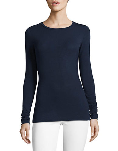 Weekend Max Mara Long Sleeve T-Shirt-ULTRAMARINE-XX-Large