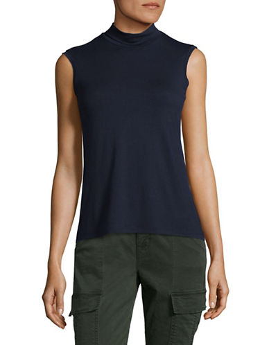 Weekend Max Mara Multic Sleeveless Jersey Top-ULTRAMARINE-X-Large