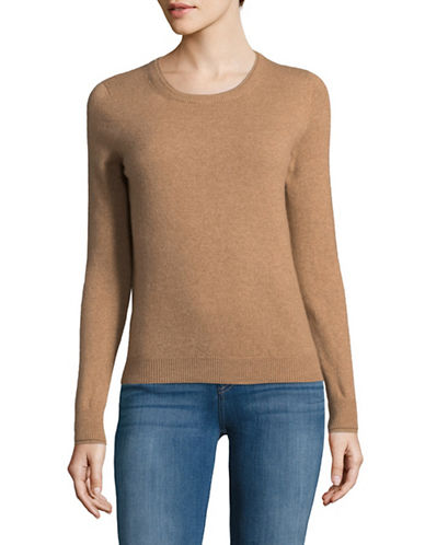 Weekend Max Mara Vacuo Cashmere Sweater-BROWN-X-Large
