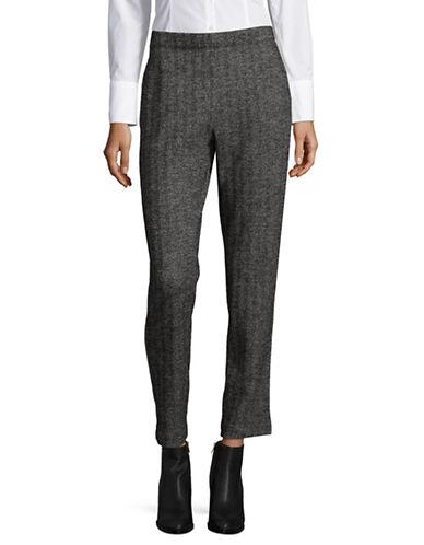 Weekend Max Mara Egeria Jersey Pants-BLACK MULTI-Small