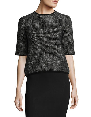 Max Mara Studio Polis Sweater-BLACK MULTI-Medium