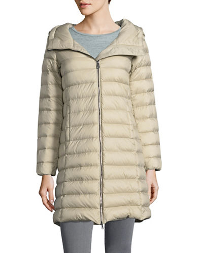 Weekend Max Mara Cluny Quilted Jacket-BROWN-EUR 44/US 10