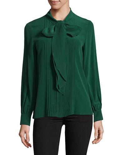 Max Mara Studio Foster Shirt-GREEN-EUR 42/US 8
