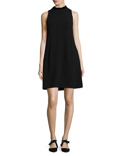 Max Mara Studio Eger Dress-BLACK-EUR 44/US 10
