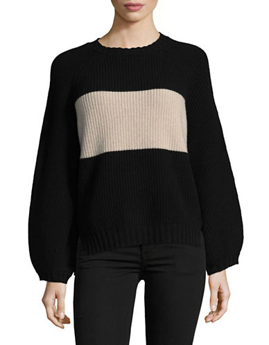 Weekend Max Mara Nembo Wool Sweater-BLACK-XX-Large