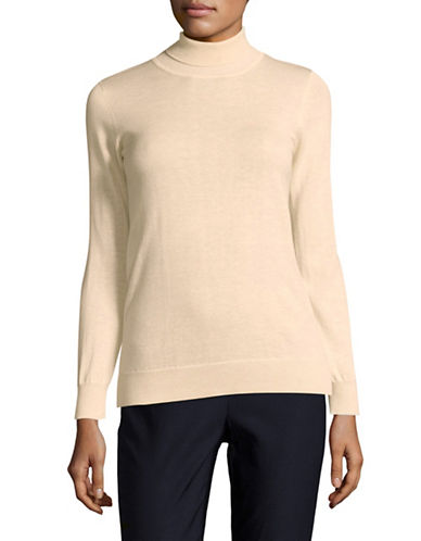 Weekend Max Mara Turtleneck Sweater-WHITE-Small