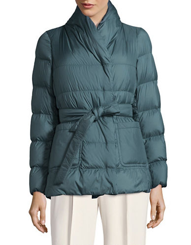 Weekend Max Mara Tirolo Quilted Jacket-BLUE-EUR 44/US 10