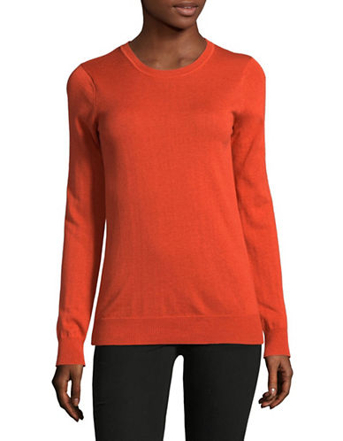 Weekend Max Mara Balsamo Silk-Wool Sweater-BRICK-Small