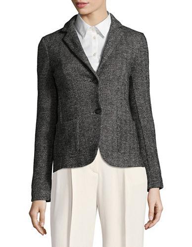 Weekend Max Mara Osmio Jersey Jacket-BLACK-X-Small