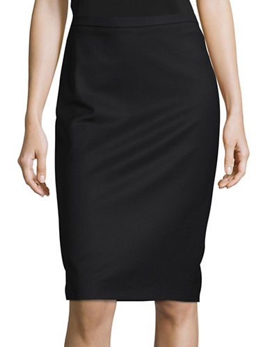 Weekend Max Mara Paio Skirt-BLACK-EUR 40/US 6