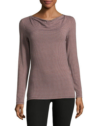 Weekend Max Mara Gerico Knit Top-RED-X-Small