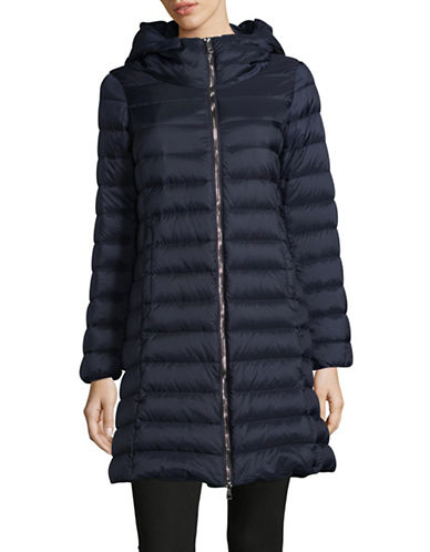 Weekend Max Mara Cluny Quilted Jacket-BLUE-EUR 50/US 16