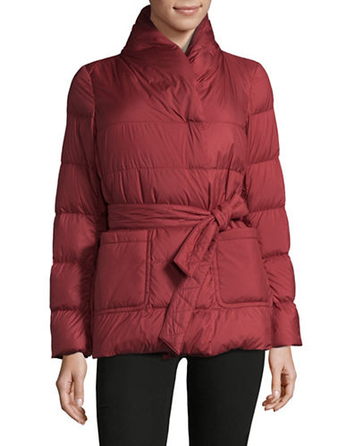Weekend Max Mara Tirolo Quilted Jacket-RED-EUR 42/US 8