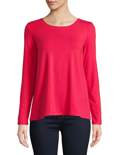 Weekend Max Mara Long Sleeve Knit Top-RED-XX-Large
