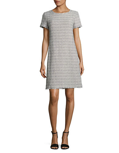 Weekend Max Mara Ezor Woven Short Sleeve Dress-ULTRAMARIN-EUR 46/US 12