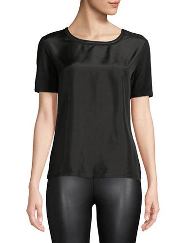 Weekend Max Mara Holly Short-Sleeve Top-BLACK-X-Small