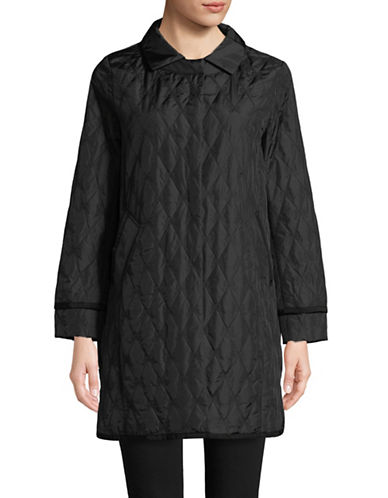 Weekend Max Mara Quilted Martin Jacket-BLACK-EUR 42/US 8